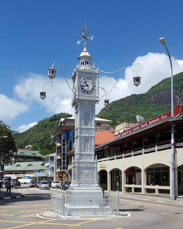 clock tower seychelles
