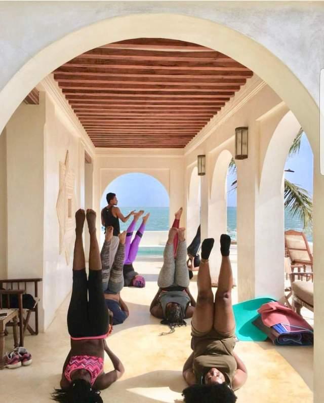 yoga lamu